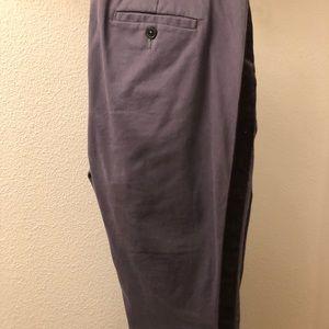 Boden Richmond 7/8 Pants with Velvet Stripe